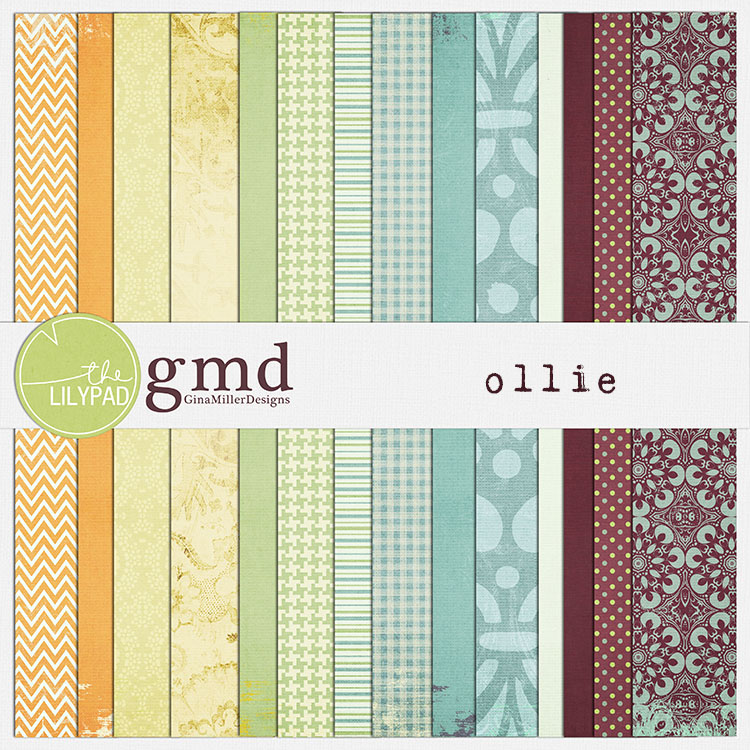 Ollie750 pretty papers | digital scrapbooking