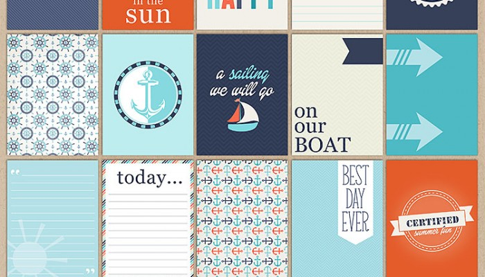 anchors aweigh | digital scrapbooking