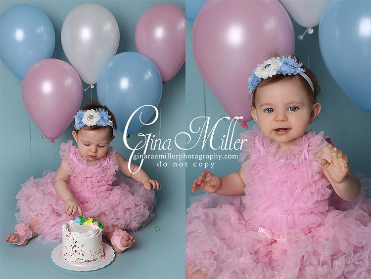 Gina Rae Miller Photography Long Island New York Cake Smash Birthday Photographer