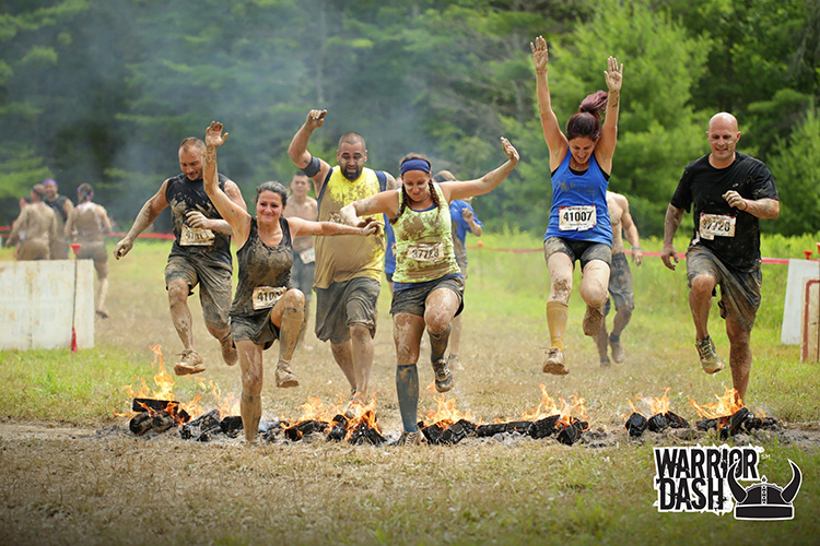 3 warrior dash | a muddy runners diary