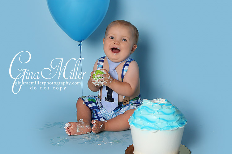 Gina Rae Miller Photography Long Island New York Cake Smash Birthday Photographer