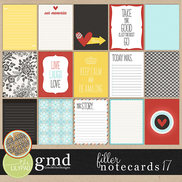 Cards17 750 new digital scrap goodies | gina miller designs