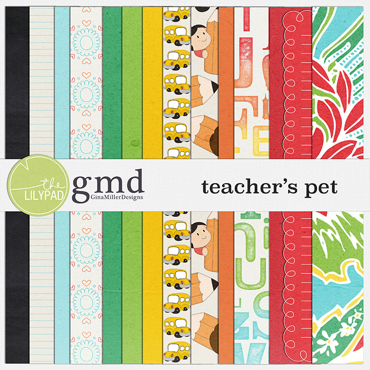 Pet750 new digital scrap goodies | gina miller designs