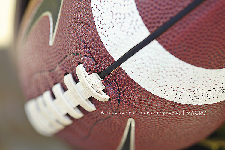 Gina Rae Miller Photography Long Island New York Photographer Macro Football