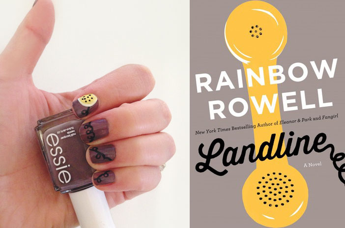 Gina Rae Miller Photography Landline Rainbow Rowell Manicure