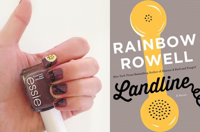 Gina Rae Miller Photography Landline Rainbow Rowell Manicure