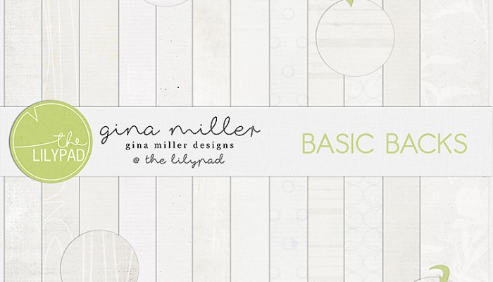 rubber stamps & basic backs | digital scrapbooking