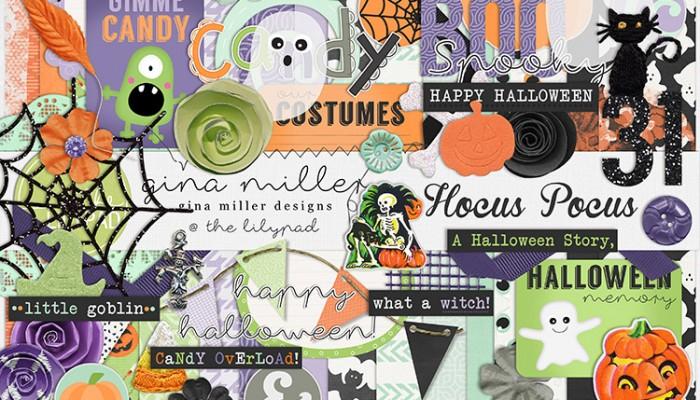 hocus pocus | digital scrapbooking