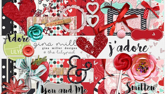 j'adore | digital scrapbooking