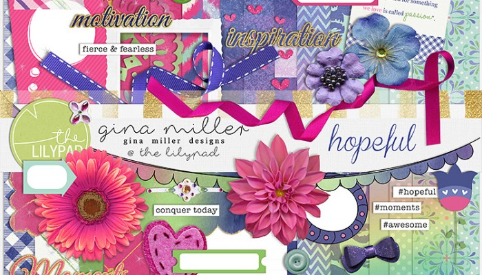 hopeful | digital scrapbooking