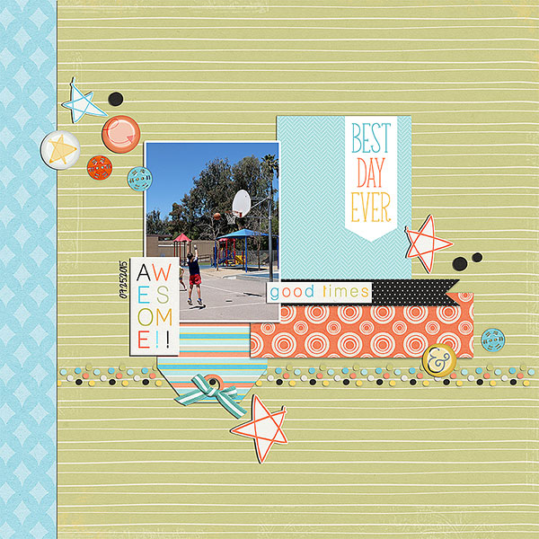 Gina Miller Designs Digital Scrapbooking The Lilypad