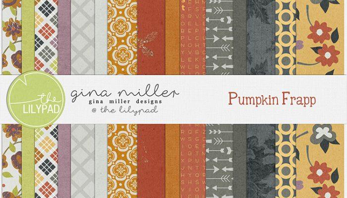 pumpkin frapp | digital scrapbooking