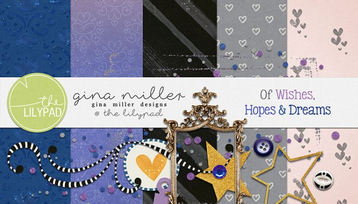 of wishes, hopes & dreams | free gift, digital scrapbooking