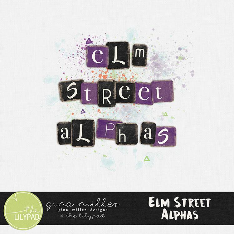 ad750Gina Miller Designs Digital Scrapbooking Halloween Elm Street