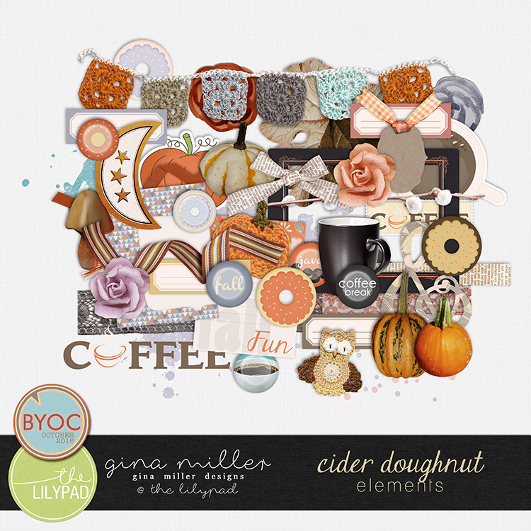 Gina Miller Designs Digital Scrapbooking BYOC