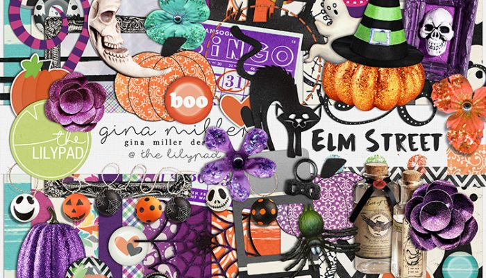elm street kit + giveaway! | digital scrapbooking