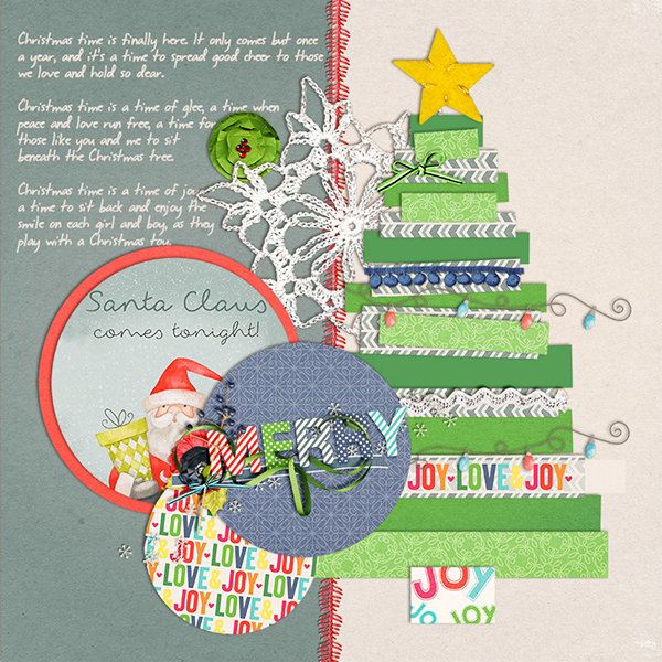Gina Miller Designs Digital Scrapbooking DYD Christmas