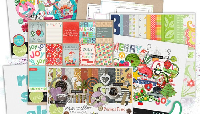 GMD storewide sale + december byoc | digital scrapbooking