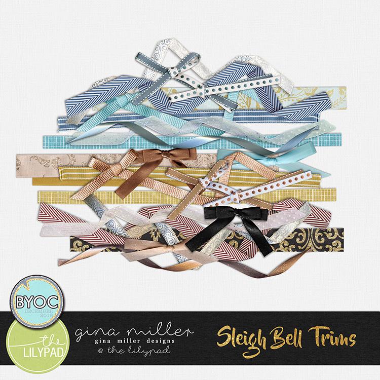 Gina Miller Designs BYOC Christmas Sleigh Bell