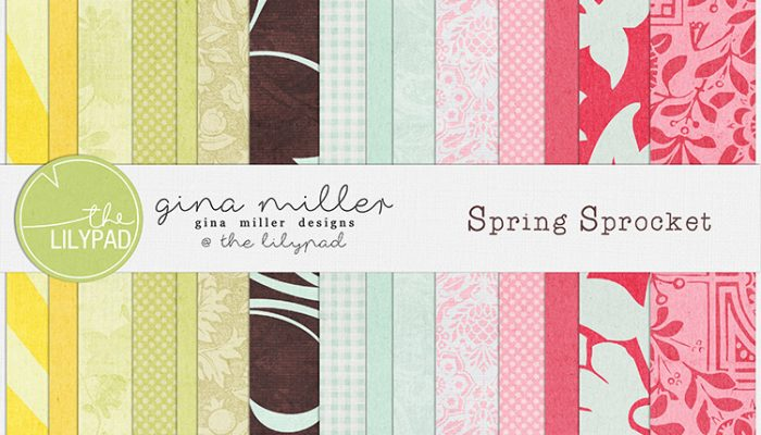 spring sprocket | digital scrapbooking