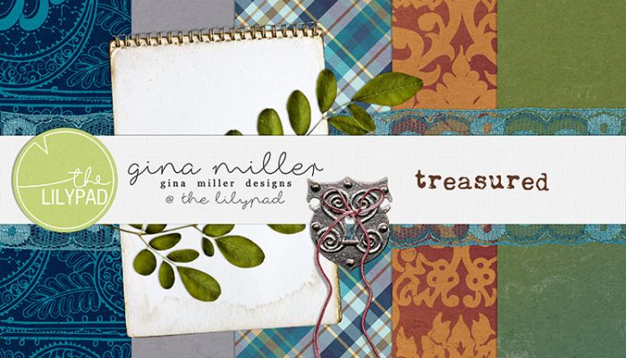 treasured | free gift, digital scrapbooking