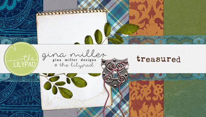 treasured | free gift, digital scrapbooking